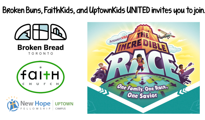 SUMMER VBS – JULY 5-6, 2019